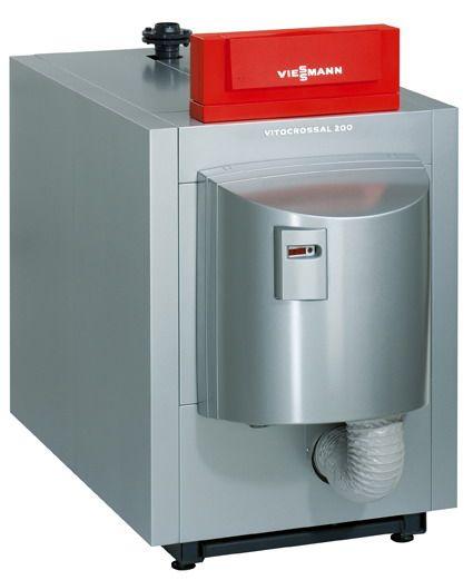 Газовый котел Viessmann Vitocrossal 200 115 кВт с Vitotronic 300 (извне)