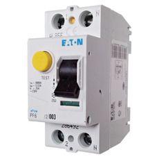 Eaton Дифференциальный выключатель напряжения PF6-25/2/0,03 (286492)