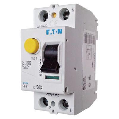 Eaton Дифференциальный выключатель напряжения PF6-25/2/0,03 (286492) цена