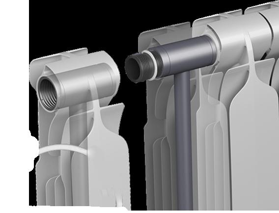 Радиатор биметаллический ESPERADO Bitenso 500