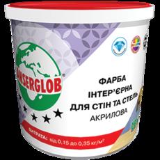 Anserglob Краска интерьерная акриловая для стен и потолков 7,5кг.