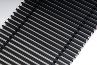 FanCOil решетка дюралевая графит для конвектора FCFP PREMIUM длина 3000мм