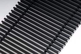 FanCOil решетка дюралевая графит для конвектора FCFN длина 1250мм