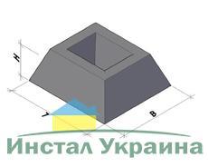 Фундамент для забора ФЗП1-2