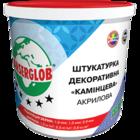 купить Anserglob Акриловая камешковая белая декоративная штукатурка зерно 2 мм.