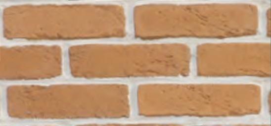 Плитка из искусственного камня Клинкер абрикос