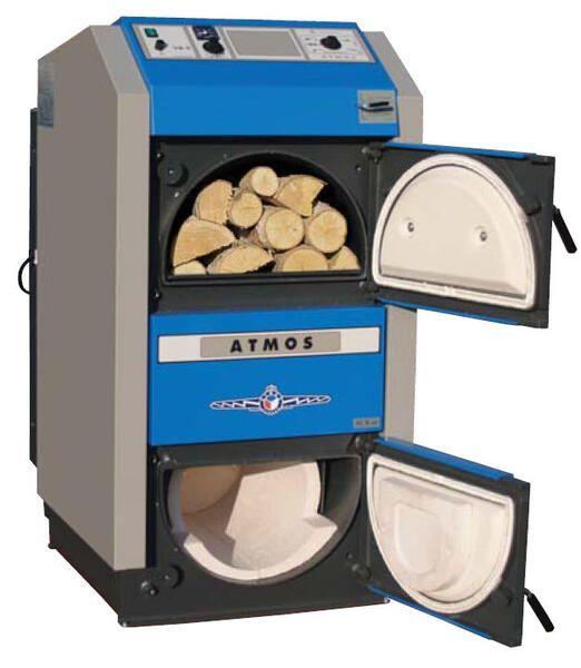 Пиролизный котел Atmos DC 100 (99 кВт)