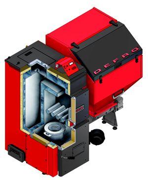 Твердотопливный котел Defro AGRO 20 кВт цены