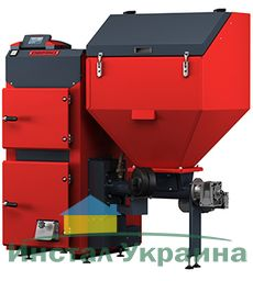 Твердотопливный пеллетный котел Defro AGRO UNI 35 кВт