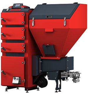 Твердотопливный котел Defro AKM DUO 24 кВт цены