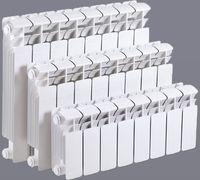 Радиатор алюминиевый ALLtermo 350x85