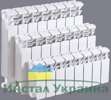 Радиатор алюминиевый ALLtermo 500x85