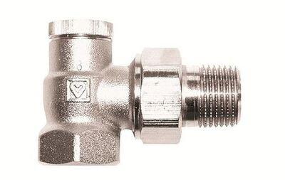 Радиаторный вентиль Herz RL-5 1/2 угловой цена