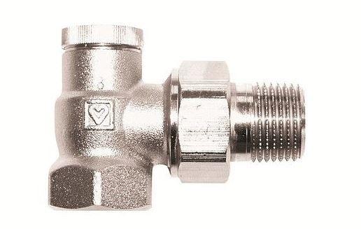 Радиаторный вентиль Herz RL-5 1/2 угловой