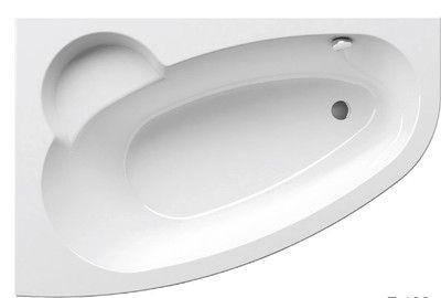 Акриловая ванна Ravak Asymmetric 150 x 100 L левосторонняя цена