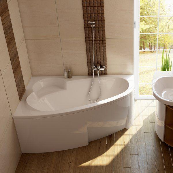 Акриловая ванна Ravak Asymmetric 170 x 110 R правосторонняя