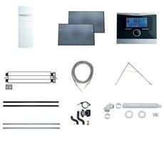 Пакет Vaillant auroCOMPACT VSC D + VFK 135 D + VRC 470 (наклонная крыша) (0020202872)