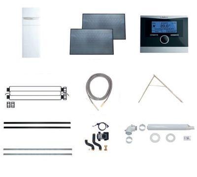 Пакет Vaillant auroCOMPACT VSC D + VFK 135 D + VRC 470 (наклонная крыша) (0020202876) цены