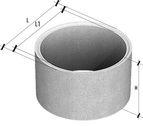 купить Кольцо стеновое пазогребневое КСЕ 15-6