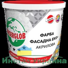 Anserglob Краска фасадная акриловая ЕКО+ 7кг.