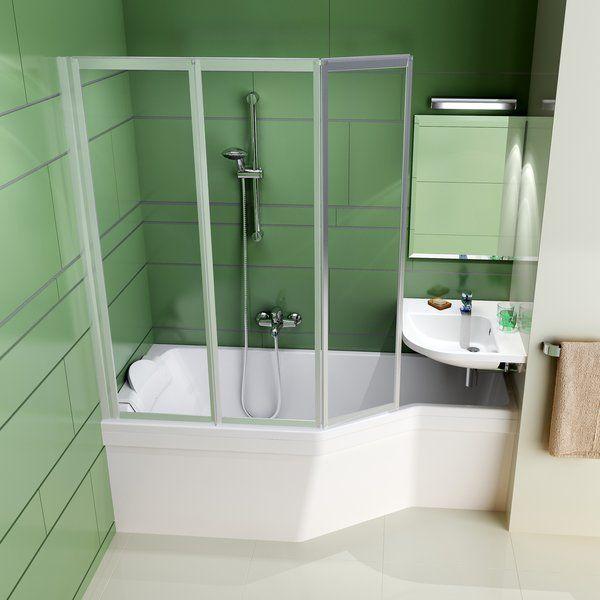 Акриловая ванна Ravak BeHappy 170 x 75 R правосторонняя