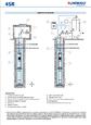 Глубинный насос Pedrollo 4SR2m/10-PDm 0.55 цена