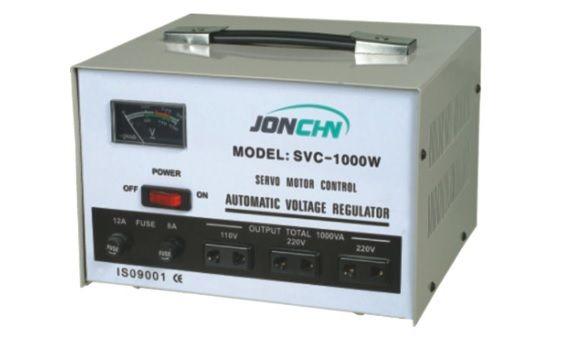 Стабилизатор напряжения Ensyco Однофазный сервоприводного типа, серии SVC -5 kVA (5000 Вт)