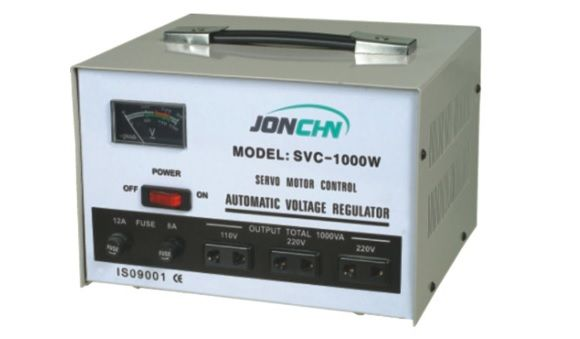 Стабилизатор напряжения Ensyco Трехфазный сервоприводного типа, серииSVC-Pro 9 kVA (9000 Вт)