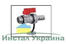 Кран слива/подпитки красный Eco tehnology 01 F/3 R