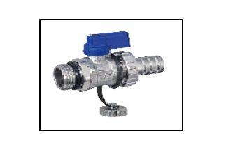 Кран слива/подпитки синий Eco tehnology 01 F/3 B