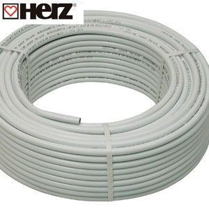 Металлополимерная труба Герц (Herz) PE-RT/AI/PE-HD 26x3