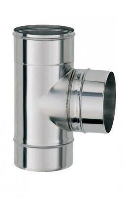 ТРОЙНИК из нержавеющей стали с термоизоляцией в нержавеющем кожухе 90 град; 0,8 мм ф220/280 цены