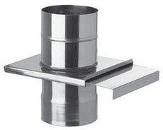 Шибер 0,8 мм из нержавеющей стали (AISI 304) ф230