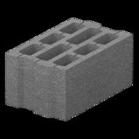 Бетонный блок М-75 (400х250х200)