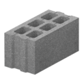Бетонный блок М-75 (400х200х200)