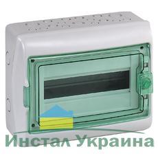 Schneider electric Щит навесной 1 ряд 12 модулей прозрачные двери IP65 280х340х160 мм (13981)