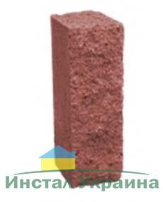 Столбик декоративный 250х100х80 (красный)