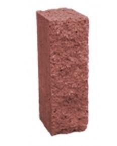 Столбик декоративный 250х100х60 (красный) цены