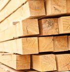 купить Брус обрезной сосновый. Размер 100х100 мм. Длинна 6 м