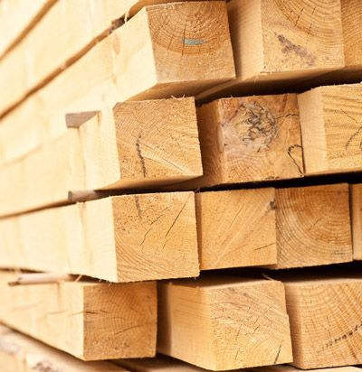 Брус обрезной сосновый. Размер 50х100 мм. Длинна 6 м