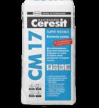купить Ceresit СМ 17 Высокоэластичная клеящая смесь Super Flexible (25 кг.)