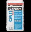 Ceresit СМ 11 Plus Клеящая смесь для плитки Comfort Gres (25 кг.)