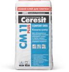 купить Ceresit СМ 11 Plus Клеящая смесь для плитки Comfort Gres (5 кг.)