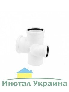 Rehau для внутр. канализации Двойной разносторонний тройник RAUPIANO PLUS 110/90/75 - правый