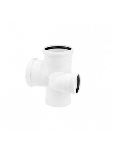 Rehau для внутр. канализации Двойной разносторонний тройник RAUPIANO PLUS 110/90/75 - левый