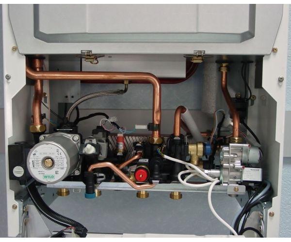 Газовый котел Saunier duval ISOTWIN C30 Дым.