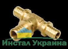 Heat-PEX Тройник редукционный с увеличенным центральным проходом d20 x d25 x d20 мм (2014202)