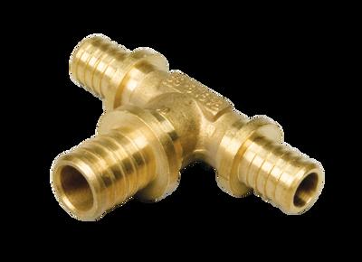 Heat-PEX Тройник редукционный с увеличенным центральным проходом d20 x d25 x d20 мм (2014202) цена