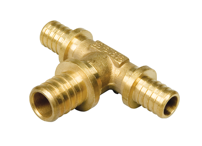 Heat-PEX Тройник редукционный с увеличенным центральным проходом d16 x d20 x d16 мм (2014161)