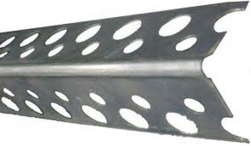 Уголок перфорированный алюм., для укрепления внешних углов